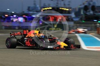 World © Octane Photographic Ltd. Formula 1 - Abu Dhabi Grand Prix - Friday - Practice 2. Max Verstappen - Red Bull Racing RB13. Yas Marina Circuit, Abu Dhabi. Friday 24th November 2017. Digital Ref: 2003CB1L6759