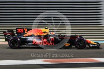 World © Octane Photographic Ltd. Formula 1 - Abu Dhabi Grand Prix - Friday - Practice 2. Max Verstappen - Red Bull Racing RB13. Yas Marina Circuit, Abu Dhabi. Friday 24th November 2017. Digital Ref: 2003CB1L6765
