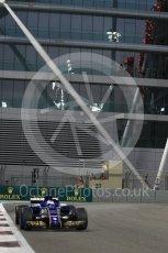 World © Octane Photographic Ltd. Formula 1 - Abu Dhabi Grand Prix - Friday - Practice 2. Marcus Ericsson – Sauber F1 Team C36. Yas Marina Circuit, Abu Dhabi. Friday 24th November 2017. Digital Ref: 2003CB1L6813