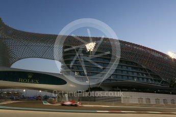 World © Octane Photographic Ltd. Formula 1 - Abu Dhabi Grand Prix - Friday - Practice 2. Sergio Perez - Sahara Force India VJM10. Yas Marina Circuit, Abu Dhabi. Friday 24th November 2017. Digital Ref: 2003CB5D0108