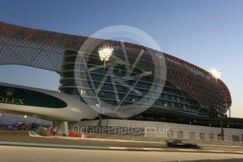 World © Octane Photographic Ltd. Formula 1 - Abu Dhabi Grand Prix - Friday - Practice 2. Kevin Magnussen - Haas F1 Team VF-17. Yas Marina Circuit, Abu Dhabi. Friday 24th November 2017. Digital Ref: 2003CB5D0157