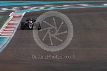World © Octane Photographic Ltd. Formula 1 - Abu Dhabi Grand Prix - Friday - Practice 2. Kevin Magnussen - Haas F1 Team VF-17. Yas Marina Circuit, Abu Dhabi. Friday 24th November 2017. Digital Ref: 2003LB1D3085
