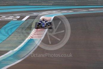 World © Octane Photographic Ltd. Formula 1 - Abu Dhabi Grand Prix - Friday - Practice 2. Pascal Wehrlein – Sauber F1 Team C36. Yas Marina Circuit, Abu Dhabi. Friday 24th November 2017. Digital Ref: 2003LB1D3106