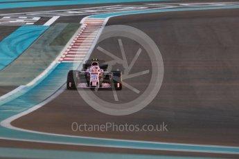 World © Octane Photographic Ltd. Formula 1 - Abu Dhabi Grand Prix - Friday - Practice 2. Esteban Ocon - Sahara Force India VJM10. Yas Marina Circuit, Abu Dhabi. Friday 24th November 2017. Digital Ref: 2003LB1D3126