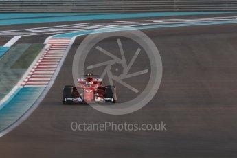 World © Octane Photographic Ltd. Formula 1 - Abu Dhabi Grand Prix - Friday - Practice 2. Kimi Raikkonen - Scuderia Ferrari SF70H. Yas Marina Circuit, Abu Dhabi. Friday 24th November 2017. Digital Ref: 2003LB1D3145