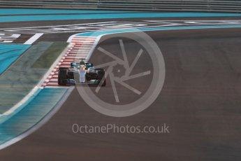 World © Octane Photographic Ltd. Formula 1 - Abu Dhabi Grand Prix - Friday - Practice 2. Lewis Hamilton - Mercedes AMG Petronas F1 W08 EQ Energy+. Yas Marina Circuit, Abu Dhabi. Friday 24th November 2017. Digital Ref: 2003LB1D3159