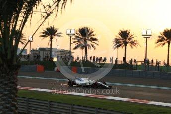 World © Octane Photographic Ltd. Formula 1 - Abu Dhabi Grand Prix - Friday - Practice 2. Felipe Massa - Williams Martini Racing FW40. Yas Marina Circuit, Abu Dhabi. Friday 24th November 2017. Digital Ref: 2003LB2D8516