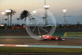 World © Octane Photographic Ltd. Formula 1 - Abu Dhabi Grand Prix - Friday - Practice 2. Kimi Raikkonen - Scuderia Ferrari SF70H. Yas Marina Circuit, Abu Dhabi. Friday 24th November 2017. Digital Ref: 2003LB2D9342