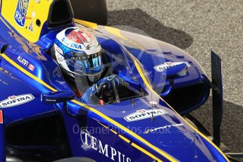 World © Octane Photographic Ltd. FIA Formula 2 (F2) - Practice. Nicolas Latifi – DAMS. Abu Dhabi Grand Prix, Yas Marina Circuit. 24th November 2017. Digital Ref:2000CB1L5636
