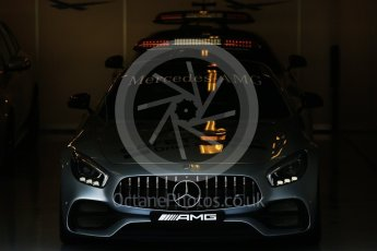 World © Octane Photographic Ltd. FIA Formula 2 (F2) - Practice. Mercedes AMG GTs Black Safety Car. Abu Dhabi Grand Prix, Yas Marina Circuit. 24th November 2017. Digital Ref:2000CB5D9662