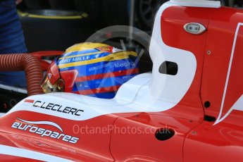 World © Octane Photographic Ltd. FIA Formula 2 (F2) - Practice. Charles Leclerc - Prema Racing. Abu Dhabi Grand Prix, Yas Marina Circuit. 24th November 2017. Digital Ref:2000CB5D9749