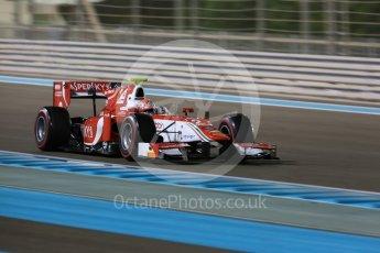 World © Octane Photographic Ltd. FIA Formula 2 (F2) - Qualifying. Antonio Fuoco – Prema Racing. Abu Dhabi Grand Prix, Yas Marina Circuit. 24th November 2017. Digital Ref:
