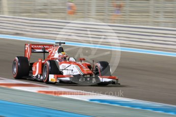 World © Octane Photographic Ltd. FIA Formula 2 (F2) - Qualifying. Charles Leclerc - Prema Racing. Abu Dhabi Grand Prix, Yas Marina Circuit. 24th November 2017. Digital Ref: