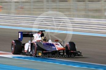 World © Octane Photographic Ltd. FIA Formula 2 (F2) - Qualifying. Nabil Jeffri – Trident. Abu Dhabi Grand Prix, Yas Marina Circuit. 24th November 2017. Digital Ref: