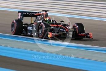 World © Octane Photographic Ltd. FIA Formula 2 (F2) - Qualifying. Louis Deletraz – Rapax. Abu Dhabi Grand Prix, Yas Marina Circuit. 24th November 2017. Digital Ref: