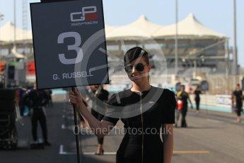 World © Octane Photographic Ltd. GP3 - Race 1. George Russell - ART Grand Prix. Abu Dhabi Grand Prix, Yas Marina Circuit. Saturday 25th November 2017. Digital Ref: