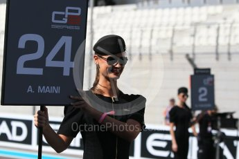 World © Octane Photographic Ltd. GP3 - Race 1. Arjun Maini – Jenzer Motorsport. Abu Dhabi Grand Prix, Yas Marina Circuit. Saturday 25th November 2017. Digital Ref: