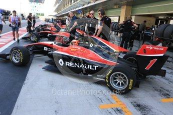 World © Octane Photographic Ltd. GP3 - Race 1. Jack Aitken - ART Grand Prix. Abu Dhabi Grand Prix, Yas Marina Circuit. Saturday 25th November 2017. Digital Ref: