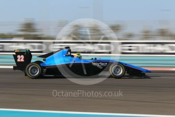 World © Octane Photographic Ltd. GP3 - Qualifying. Allessio Lorando – Jenzer Motorsport. Abu Dhabi Grand Prix, Yas Marina Circuit. Friday 24th November 2017. Digital Ref: