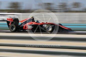 World © Octane Photographic Ltd. GP3 - Qualifying. Nirei Fukuzumi - ART Grand Prix. Abu Dhabi Grand Prix, Yas Marina Circuit. Friday 24th November 2017. Digital Ref: