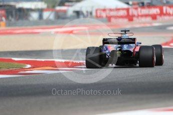 World © Octane Photographic Ltd. Formula 1 - American Grand Prix - Friday - Practice 2. Brendon Hartley - Scuderia Toro Rosso STR12. Circuit of the Americas, Austin, Texas, USA. Friday 20th October 2017. Digital Ref: 1987LB1D4047