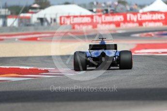 World © Octane Photographic Ltd. Formula 1 - American Grand Prix - Friday - Practice 2. Marcus Ericsson – Sauber F1 Team C36. Circuit of the Americas, Austin, Texas, USA. Friday 20th October 2017. Digital Ref: 1987LB1D4167