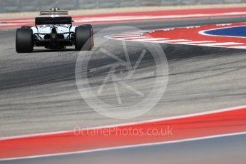 World © Octane Photographic Ltd. Formula 1 - American Grand Prix - Friday - Practice 2. Lance Stroll - Williams Martini Racing FW40. Circuit of the Americas, Austin, Texas, USA. Friday 20th October 2017. Digital Ref: 1987LB1D4256