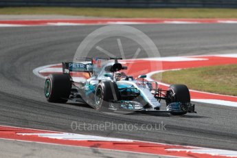 World © Octane Photographic Ltd. Formula 1 - American Grand Prix - Friday - Practice 2. Lewis Hamilton - Mercedes AMG Petronas F1 W08 EQ Energy+. Circuit of the Americas, Austin, Texas, USA. Friday 20th October 2017. Digital Ref: 1987LB1D4701