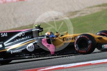 World © Octane Photographic Ltd. Formula 1 - American Grand Prix - Friday - Practice 2. Carlos Sainz - Renault Sport F1 Team R.S.17. Circuit of the Americas, Austin, Texas, USA. Friday 20th October 2017. Digital Ref: 1987LB1D4756