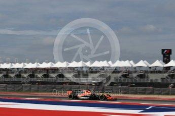 World © Octane Photographic Ltd. Formula 1 - American Grand Prix - Friday - Practice 2. Fernando Alonso - McLaren Honda MCL32. Circuit of the Americas, Austin, Texas, USA. Friday 20th October 2017. Digital Ref: 1987LB2D6095
