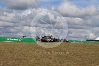 World © Octane Photographic Ltd. Formula 1 - American Grand Prix - Friday - Practice 2. Romain Grosjean - Haas F1 Team VF-17. Circuit of the Americas, Austin, Texas, USA. Friday 20th October 2017. Digital Ref: 1987LB2D6312