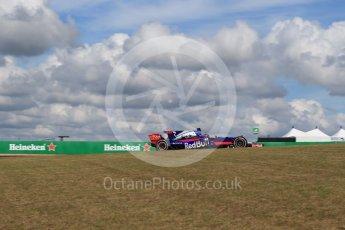 World © Octane Photographic Ltd. Formula 1 - American Grand Prix - Friday - Practice 2. Brendon Hartley - Scuderia Toro Rosso STR12. Circuit of the Americas, Austin, Texas, USA. Friday 20th October 2017. Digital Ref: 1987LB2D6355