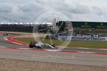 World © Octane Photographic Ltd. Formula 1 - American Grand Prix - Friday - Practice 2. Felipe Massa - Williams Martini Racing FW40. Circuit of the Americas, Austin, Texas, USA. Friday 20th October 2017. Digital Ref: 1987LB2D6514