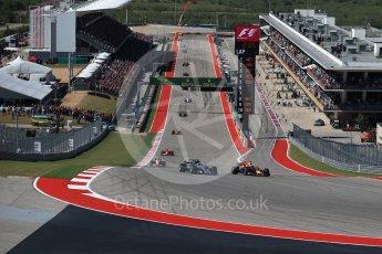 World © Octane Photographic Ltd. Formula 1 - American Grand Prix - Sunday - Race. Valtteri Bottas - Mercedes AMG Petronas F1 W08 EQ Energy+. Circuit of the Americas, Austin, Texas, USA. Sunday 22nd October 2017. Digital Ref: 1994LB2D7321