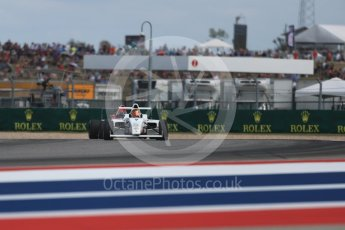 World © Octane Photographic Ltd. Formula 4 – F4 United States Championship - American Grand Prix – Race 1. Circuit of the Americas (COTA), Austin, Texas, USA. Saturday 21st October 2017. Mathias Soler-Obel - Cape Motorsports. Digital Ref:1982LB1D6889