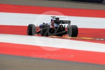 World © Octane Photographic Ltd. Formula 1 - Austria Grand Prix - Saturday - Qualifying. Carlos Sainz - Scuderia Toro Rosso STR12. Red Bull Ring, Spielberg, Austria. Saturday 8th July 2017. Digital Ref: 1869LB1D2505