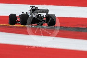 World © Octane Photographic Ltd. Formula 1 - Austria Grand Prix - Saturday - Qualifying. Romain Grosjean - Haas F1 Team VF-17. Red Bull Ring, Spielberg, Austria. Saturday 8th July 2017. Digital Ref: 1869LB1D2552