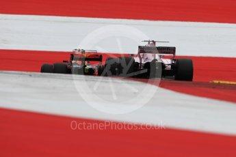 World © Octane Photographic Ltd. Formula 1 - Austria Grand Prix - Saturday - Qualifying. Sergio Perez - Sahara Force India VJM10. Red Bull Ring, Spielberg, Austria. Saturday 8th July 2017. Digital Ref: 1869LB1D2603