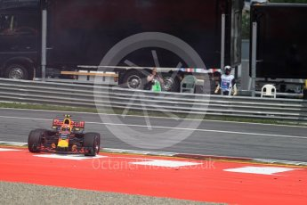 World © Octane Photographic Ltd. Formula 1 - Austria Grand Prix - Sunday - Race. Max Verstappen - Red Bull Racing RB13. Red Bull Ring, Spielberg, Austria. Sunday 9th July 2017. Digital Ref: 1875LB1D4896