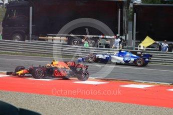 World © Octane Photographic Ltd. Formula 1 - Austria Grand Prix - Sunday - Race. Max Verstappen - Red Bull Racing RB13. Red Bull Ring, Spielberg, Austria. Sunday 9th July 2017. Digital Ref: 1875LB1D4899