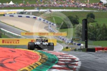 World © Octane Photographic Ltd. Formula 1 - Austria Grand Prix - Sunday - Race. Kevin Magnussen - Haas F1 Team VF-17. Red Bull Ring, Spielberg, Austria. Sunday 9th July 2017. Digital Ref: 1875LB1D5147
