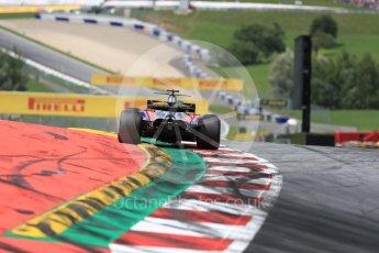 World © Octane Photographic Ltd. Formula 1 - Austria Grand Prix - Sunday - Race. Daniil Kvyat - Scuderia Toro Rosso STR12. Red Bull Ring, Spielberg, Austria. Sunday 9th July 2017. Digital Ref: 1875LB1D5187