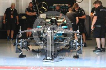 World © Octane Photographic Ltd. Formula 1 - Austria Grand Prix - Thursday - Pit Lane. Mercedes AMG Petronas F1 W08 EQ Energy+. Red Bull Ring, Spielberg, Austria. Thursday 6th July 2017. Digital Ref: 1861LB1D8961