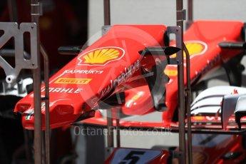 World © Octane Photographic Ltd. Formula 1 - Austria Grand Prix - Thursday - Pit Lane. Scuderia Ferrari SF70H. Red Bull Ring, Spielberg, Austria. Thursday 6th July 2017. Digital Ref: 1861LB1D8985