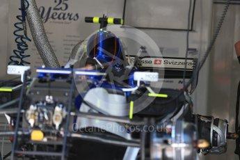 World © Octane Photographic Ltd. Formula 1 - Austria Grand Prix - Thursday - Pit Lane. Sauber F1 Team C36. Red Bull Ring, Spielberg, Austria. Thursday 6th July 2017. Digital Ref: 1861LB1D9153