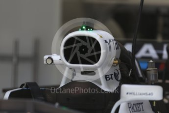 World © Octane Photographic Ltd. Formula 1 - Austria Grand Prix - Thursday - Pit Lane. Williams Martini Racing FW40. Red Bull Ring, Spielberg, Austria. Thursday 6th July 2017. Digital Ref: 1861LB2D4304