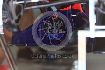 World © Octane Photographic Ltd. Formula 1 - Austria Grand Prix - Thursday - Pit Lane. Scuderia Toro Rosso STR12. Red Bull Ring, Spielberg, Austria. Thursday 6th July 2017. Digital Ref: 1861LB2D4356