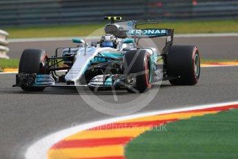 World © Octane Photographic Ltd. Formula 1 - Belgian Grand Prix - Friday - Practice 1. Valtteri Bottas - Mercedes AMG Petronas F1 W08 EQ Energy+. Circuit de Spa Francorchamps, Belgium. Friday 25th August 2017. Digital Ref:1922LB1D4880
