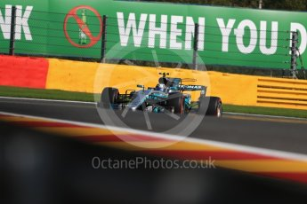 World © Octane Photographic Ltd. Formula 1 - Belgian Grand Prix - Friday - Practice 1. Valtteri Bottas - Mercedes AMG Petronas F1 W08 EQ Energy+. Circuit de Spa Francorchamps, Belgium. Friday 25th August 2017. Digital Ref:1922LB1D5170
