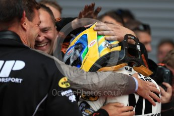 World © Octane Photographic Ltd. FIA Formula 2 (F2) - Race 2. Sergio Sette Camara – MP Motorsport. Belgian Grand Prix, Spa Francorchamps, Belgium. Sunday August 27th 2017. Digital Ref:1926LB1D7868